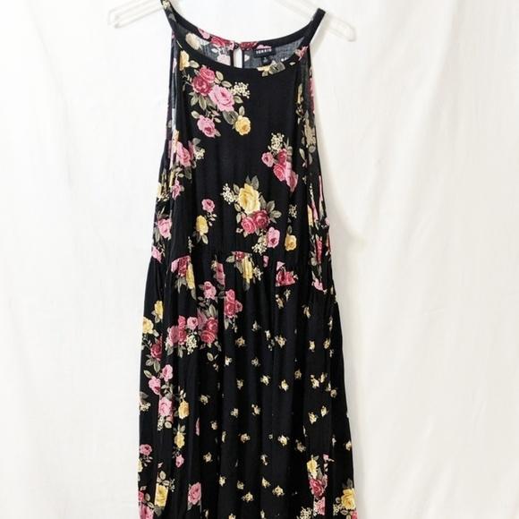 Torrid Dresses & Skirts - Plus Size Torrid Black Floral Dress